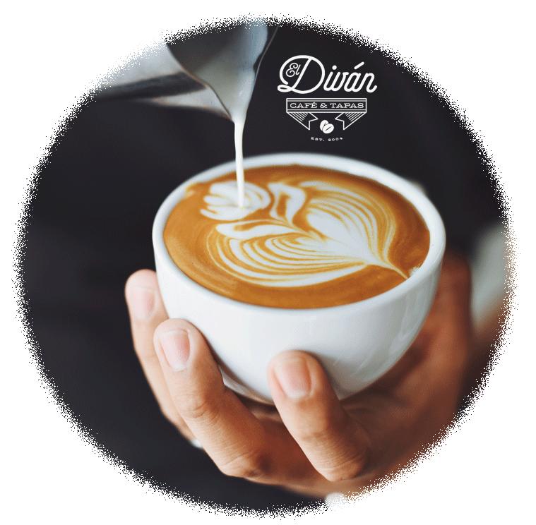 cafe adornado